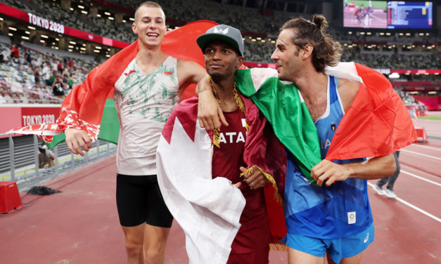 Tamberi and Barshim share gold in dramatic high jump contest