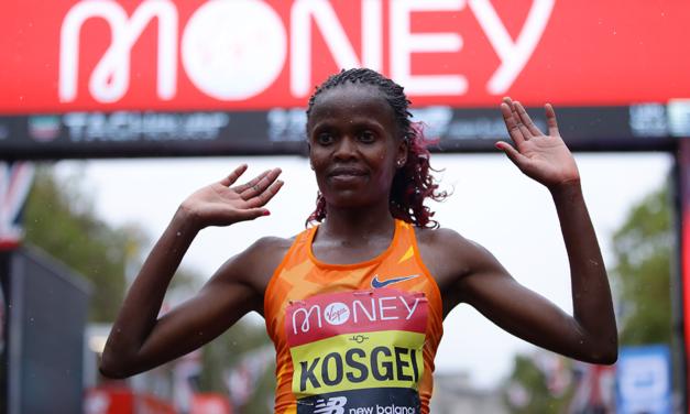 World record-holder Brigid Kosgei headlines 2021 Virgin Money London Marathon
