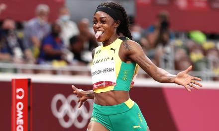 Elaine Thompson-Herah wins fourth individual Olympic gold