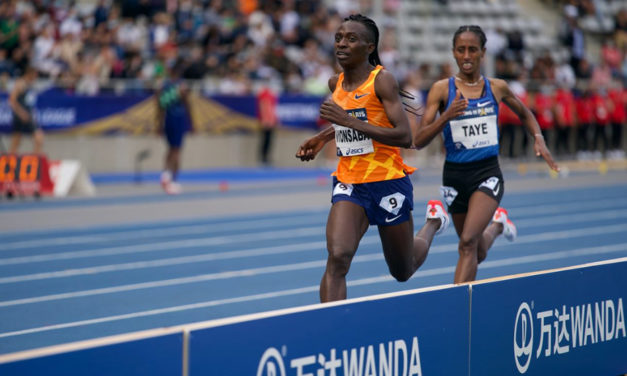 Niyonsaba goes from strength to strength