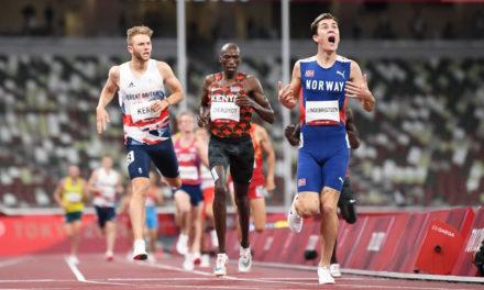 Gold for Ingebrigtsen as Kerr earns brilliant bronze for Britain