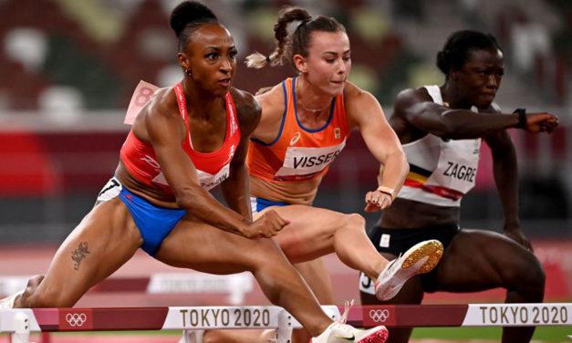 Olympic record for Jasmine Camacho-Quinn