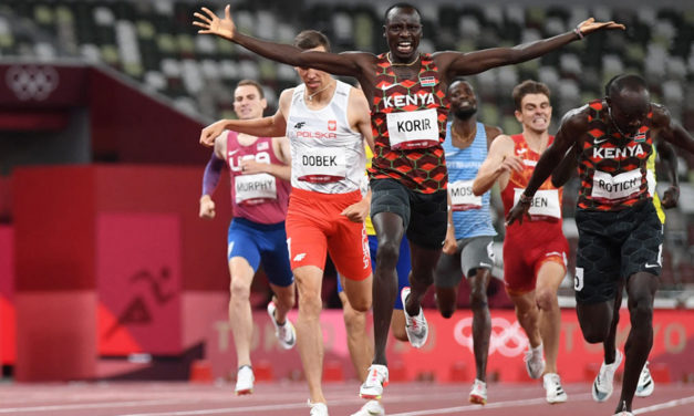 Kenyan one-two in disappointing Olympic 800m final