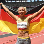 Malaika Mihambo wins long jump in Tokyo with last-gasp leap