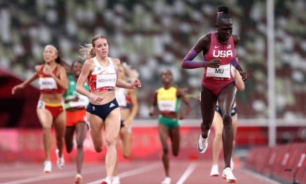 Records fall as Mu and Hodgkinson star in extraordinary Olympic 800m