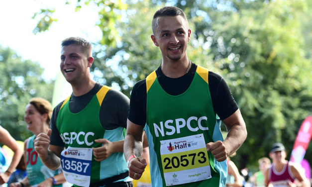 Join #TeamNSPCC at one of the greenest races in the calendar