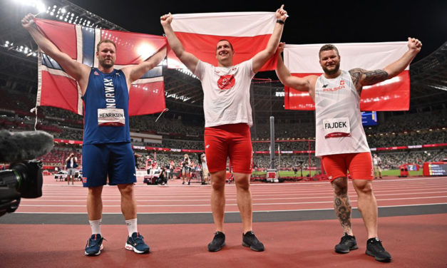 Poland win another hammer gold in Tokyo