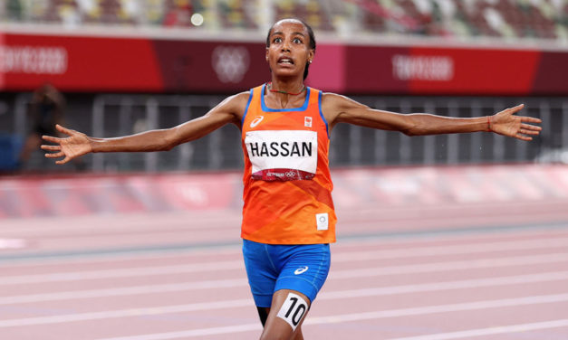One down, two to go for Sifan Hassan