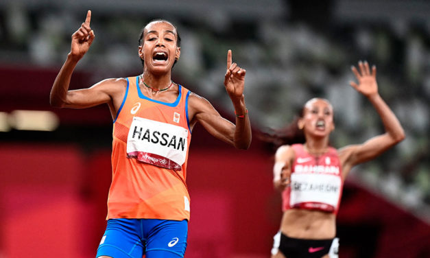 Sifan Hassan runs into the history books with Olympic 10,000m gold