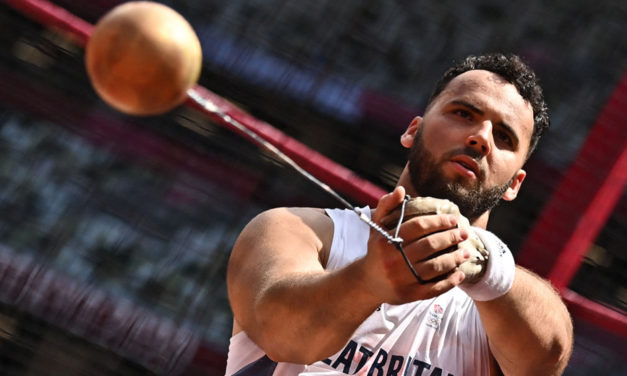 Taylor Campbell on the art of hammer throwing