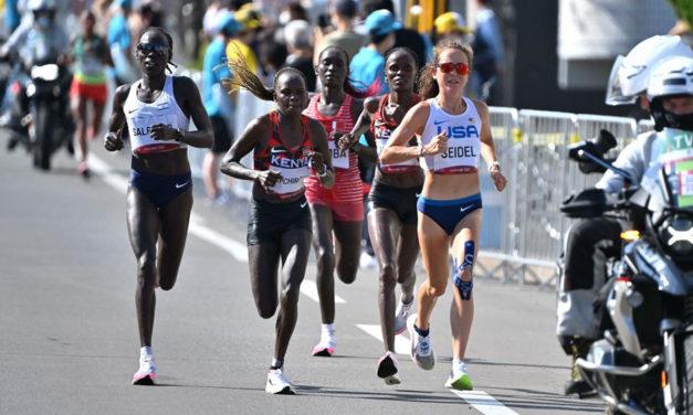 Olympic marathon win for Peres Jepchirchir