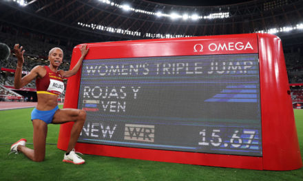 Yulimar Rojas smashes world triple jump record in Tokyo