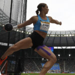 World discus lead for Valarie Allman in Berlin