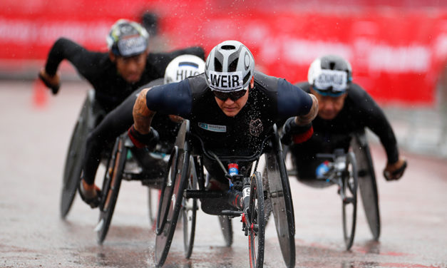"David Weir ""proud"" ahead of his 22nd consecutive London Marathon"