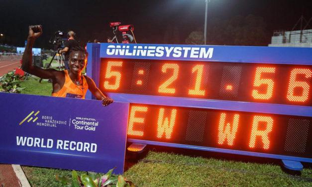 World 2000m record falls to Francine Niyonsaba