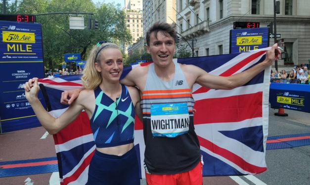 Jake Wightman and Jemma Reekie finish with a flourish in New York