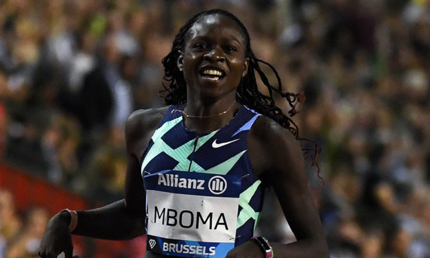 Christine Mboma wins 200m in Brussels with Dina Asher-Smith third