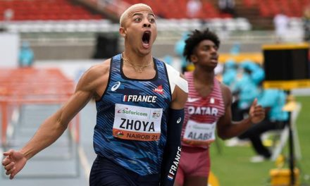 """Sasha Zhoya: """"I want to be one of the greatest of all-time in the hurdles"""""""