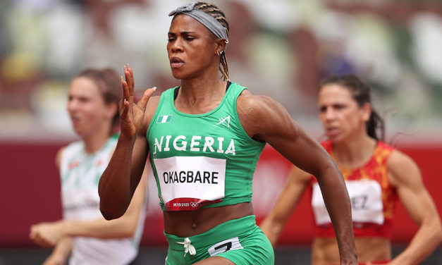 Blessing Okagbare charged with use of two banned substances