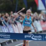 Eilish McColgan smashes British 10-mile record at Great South Run