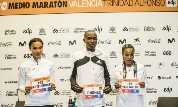 Gidey and Yehualaw attack half-marathon world record in Valencia