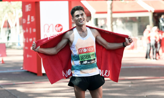 Training with Kipchoge led to London breakthrough, says Sesemann
